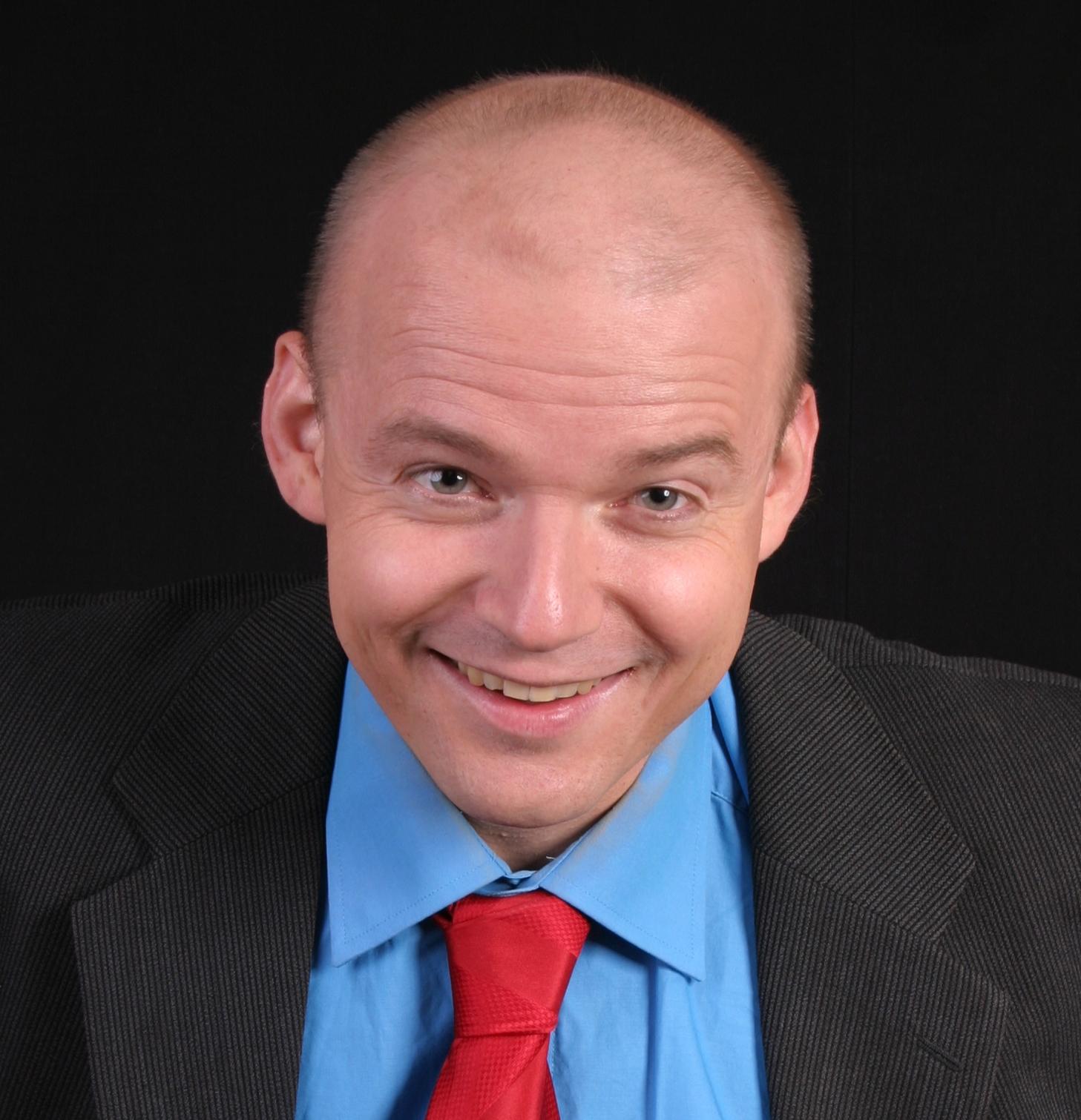 Comedian Armin Nagel