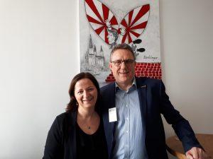 Stefanie Voss und Heinrich Kürzeder in Ulm