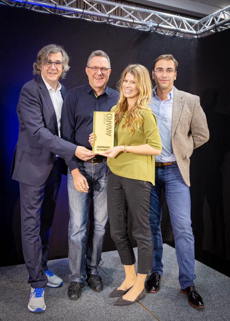 die Gewinnerin des Agenturpreises Lisa Reinheimer