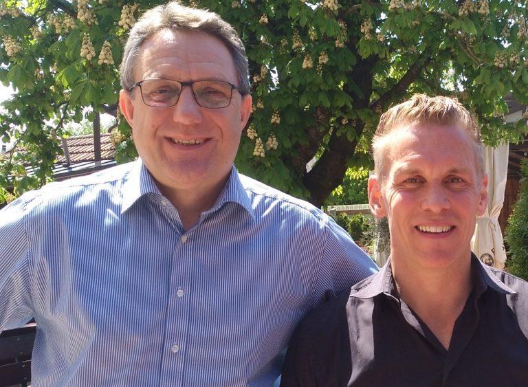 Gesundheitsexperte Patric Heizmann mit dem Rednermacher