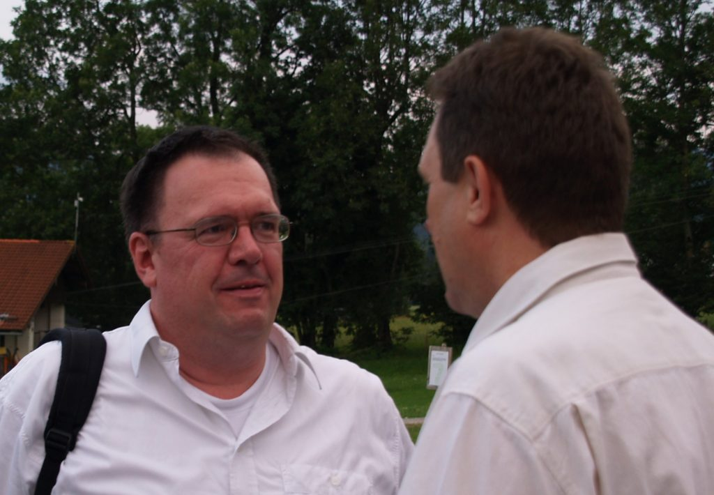 Journalist Ulrich Pffaenberger und der Rednermacher