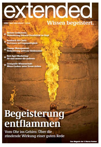Cover der Zeitschrift extended