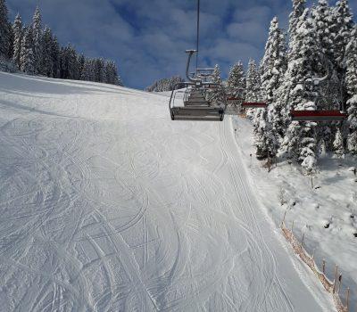 Skilift auf dem Hartkaiser