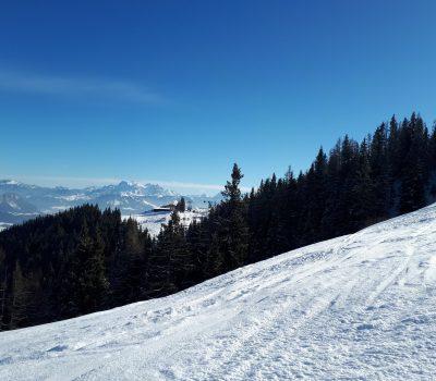 Skihang in Tirol
