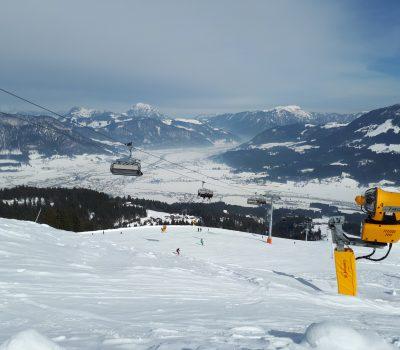 Winterlandschaft in Elmau/Tirol