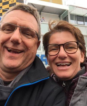 DTM Auftakt mit Heinrich Kürzeder und Rennfahrerin Ellen Lohr