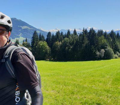 Heinrich Kürzeder bei einer Bike Tour