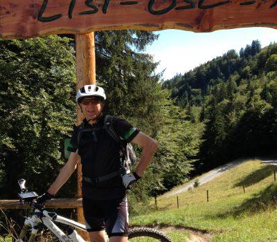 Downhill Strecke: Lisi-Osl-Trail