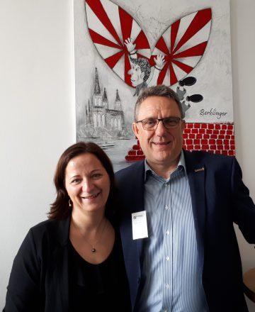 Leadership-Expertin Stefanie Voss und der Rednermacher